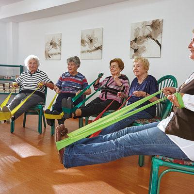 Spaß bei der Physiotherapie