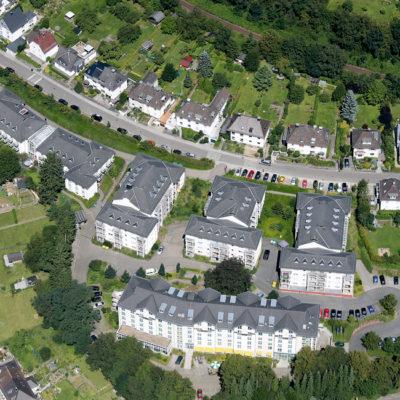 Unsere Residenz Ambiente in Gummersbach von oben